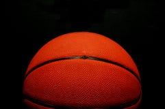 czarna odizolowane koszykówki Obrazy Stock