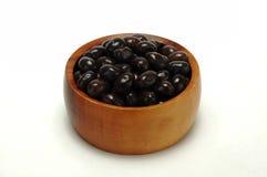 czarna oliwka Fotografia Stock