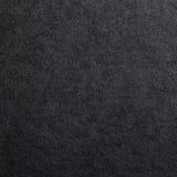 Czarna papierowa tekstura dla tła Zdjęcia Stock
