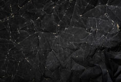 Czarna Papierowa tekstura, Miący Papierowy tekstury tło Fotografia Stock