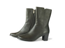 czarna para butów. obraz stock