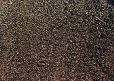 Czarna piasek natury tekstura Obraz Stock