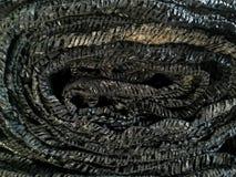 Czarna podcieniowanie sieci tekstura zdjęcie stock