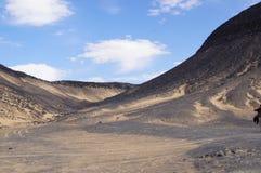 Czarna pustynia Zdjęcie Royalty Free