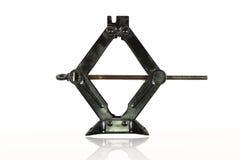 Czarna ręczna dźwigarka dla samochodowego lifter Obrazy Stock
