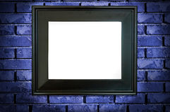 czarna rama Fotografia Stock