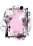 czarna rama Obraz Royalty Free