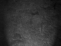 Czarna rockowa tekstura Zdjęcia Stock