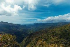 Czarna Rzeczna dolina Fotografia Royalty Free