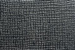 Czarna rzemienna textural tło rama na ogół zdjęcia royalty free