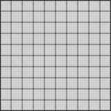 Czarna siatka na białym papierze tileable Obrazy Royalty Free