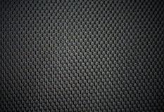 Czarna skóra dla tekstury od samochodowych siedzeń obraz stock