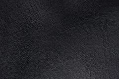Czarna skóry powierzchnia obrazy royalty free