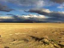 Czarna skały pustynia Obraz Royalty Free