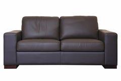 czarna sofa zdjęcia royalty free
