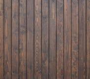 Czarna sosnowego drewna ściany tekstura dla tła zdjęcia stock