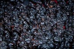 Czarna statua Zdjęcie Royalty Free