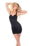 czarna sukienka fotografia stock
