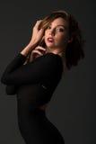 czarna sukienka Zdjęcia Royalty Free