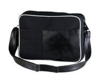 Czarna sukienna laptop torba fotografia royalty free