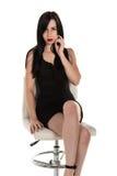 Czarna suknia Obraz Stock