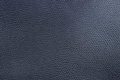 Czarna sztuczna skóra w górę, tekstura, tło zdjęcie stock