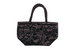 Czarna torba Zdjęcia Royalty Free