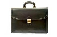 czarna walizka Zdjęcia Royalty Free