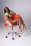 czarna wspaniała kobieta Fotografia Stock