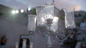 Czarne świeczki na Candlesticks zdjęcie wideo