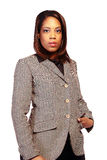 czarne bizneswomanów young zdjęcie royalty free
