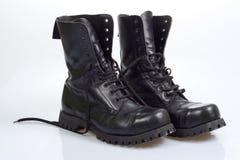 czarne buty Obrazy Stock