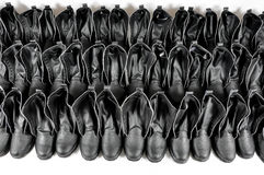 czarne buty Obraz Stock