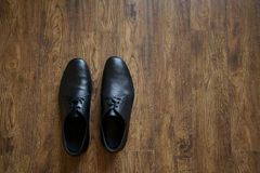 czarne buty Obrazy Royalty Free