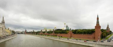 Czarne chmury & Kremlin Fotografia Stock