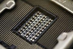 Czarne elektronicznego obwodu deski Zdjęcie Stock