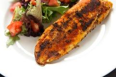 czarne filet z white ryb zdjęcia stock