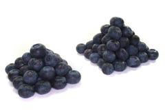czarne jagody świeże zdjęcie stock