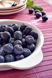 czarne jagody kuchenne Obraz Royalty Free