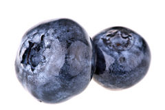 czarne jagody makro- Zdjęcie Stock
