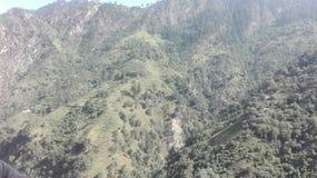 Czarne Kamienne góry Zdjęcie Royalty Free