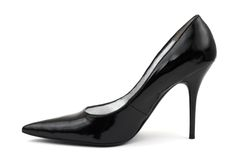 czarne kobiety obuwiane Obraz Royalty Free