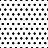 czarne kropki tła Zdjęcie Royalty Free