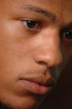 czarne męskie młode Obraz Stock