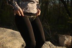 czarne majtki Zdjęcie Stock