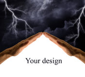 czarne niebo Obrazy Stock