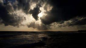 czarne niebo Fotografia Royalty Free