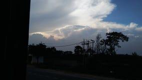 czarne niebo Zdjęcie Royalty Free