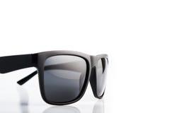czarne okulary przeciwsłoneczne Obraz Royalty Free