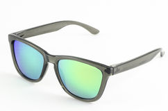 czarne okulary przeciwsłoneczne Obraz Stock